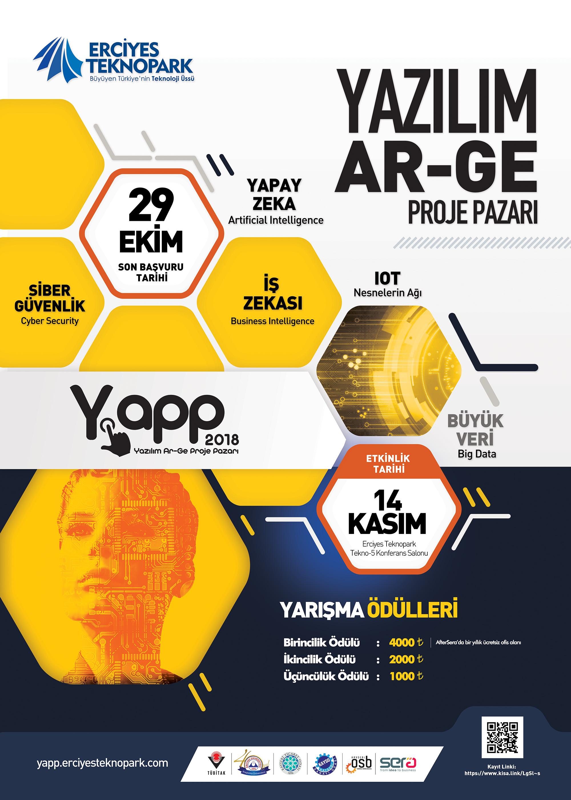 Erciyes Teknopark Tarafindan Duzenlenen Yazilim Ar Ge Proje Pazarina